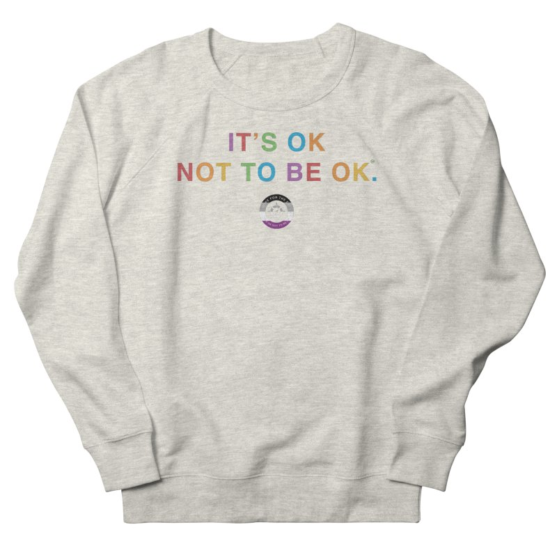IT'S OK Asexual Flag Men's Sweatshirt by Hope for the Day Shop