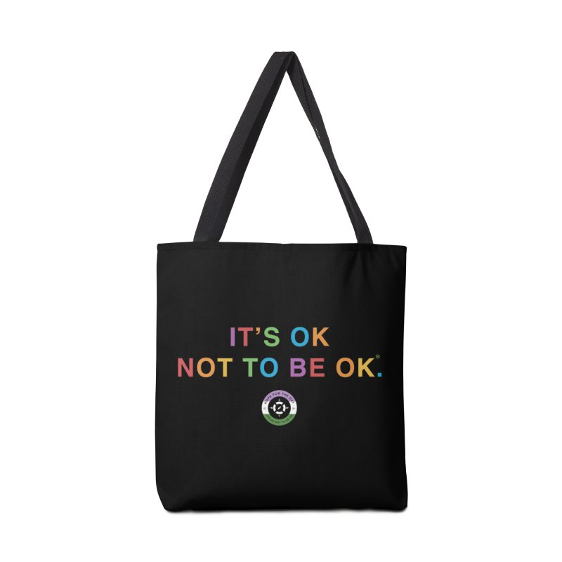 IT'S OK Genderqueer (Non-Binary) Accessories Tote Bag Bag by Hope for the Day Shop