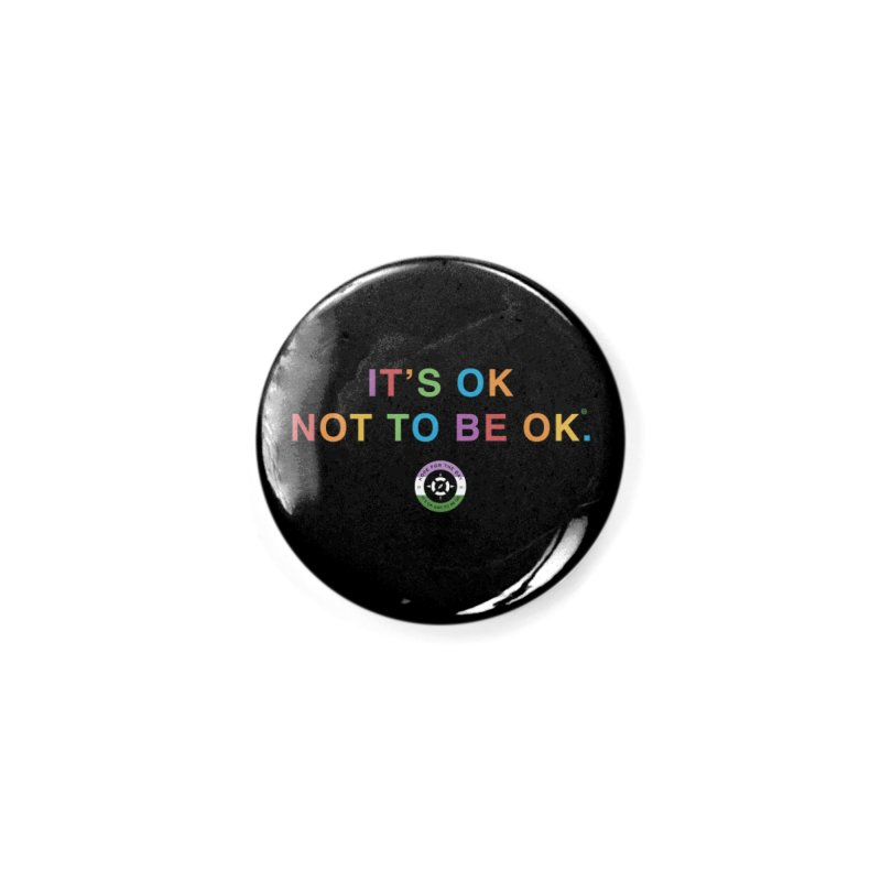 IT'S OK Genderqueer (Non-Binary) Accessories Button by Hope for the Day Shop