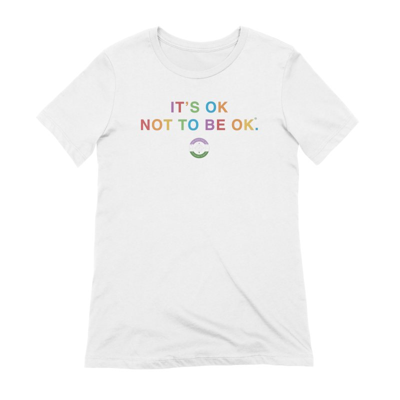 IT'S OK Genderqueer (Non-Binary) Women's Extra Soft T-Shirt by Hope for the Day Shop