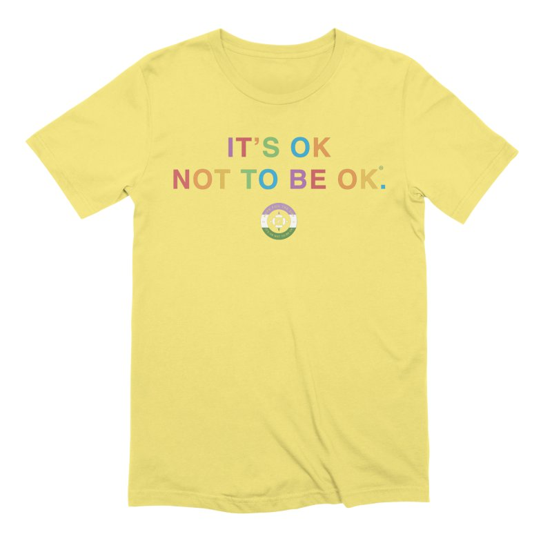 IT'S OK Genderqueer (Non-Binary) Men's Extra Soft T-Shirt by Hope for the Day Shop