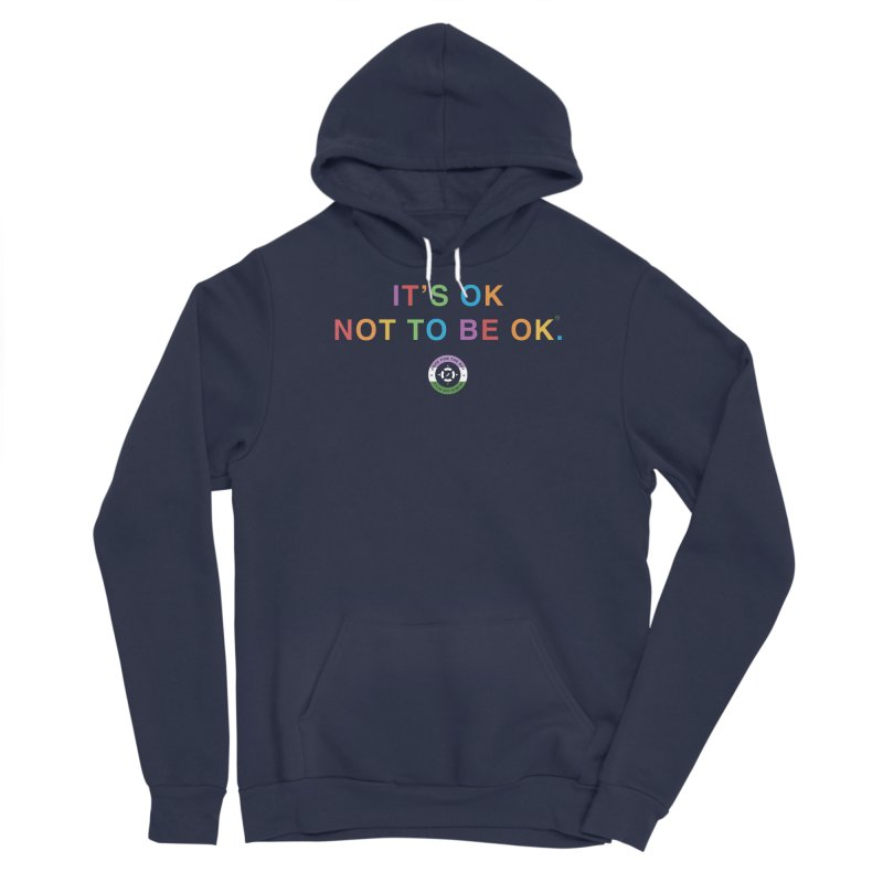 IT'S OK Genderqueer (Non-Binary) Men's Pullover Hoody by Hope for the Day Shop