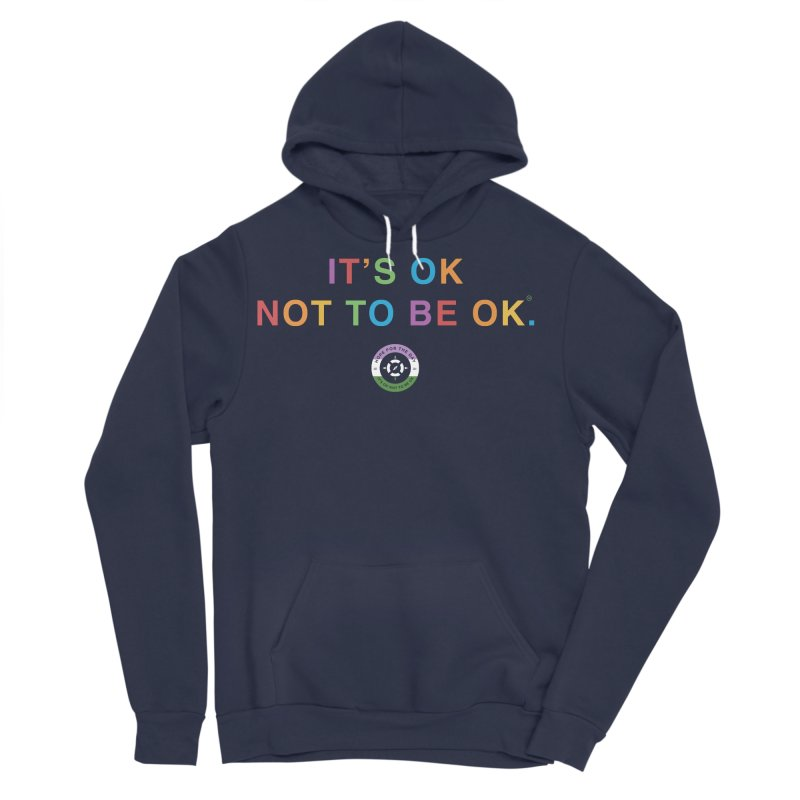 IT'S OK Genderqueer (Non-Binary) Women's Sponge Fleece Pullover Hoody by Hope for the Day Shop