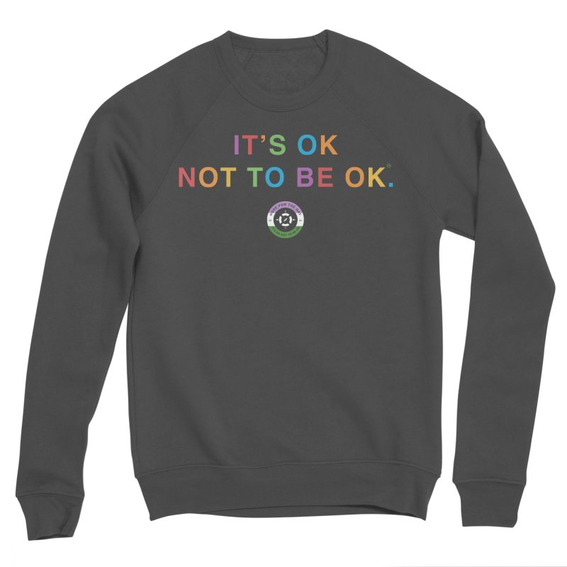 IT'S OK Genderqueer (Non-Binary) Men's Sponge Fleece Sweatshirt by Hope for the Day Shop