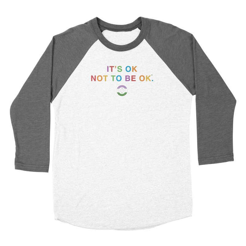 IT'S OK Genderqueer (Non-Binary) Men's Baseball Triblend Longsleeve T-Shirt by Hope for the Day Shop