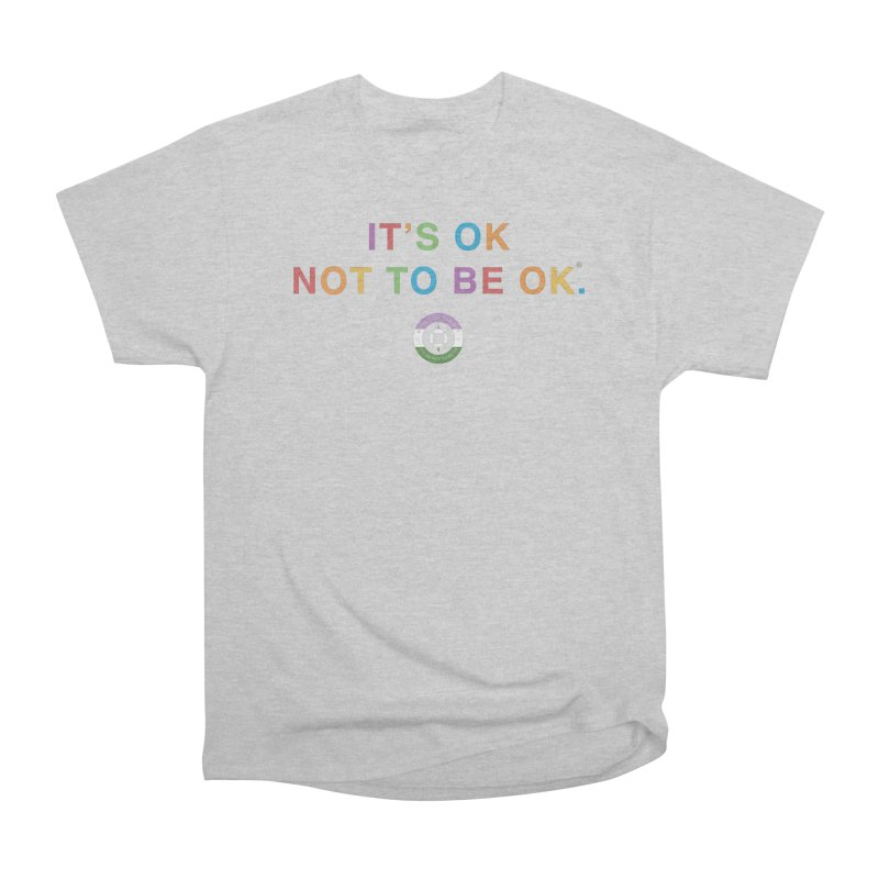 IT'S OK Genderqueer (Non-Binary) Men's Heavyweight T-Shirt by Hope for the Day Shop