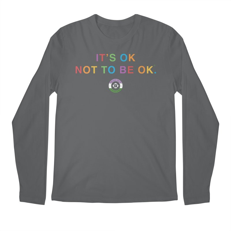 IT'S OK Genderqueer (Non-Binary) Men's Longsleeve T-Shirt by Hope for the Day Shop