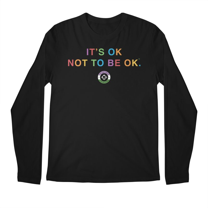 IT'S OK Genderqueer (Non-Binary) Men's Regular Longsleeve T-Shirt by Hope for the Day Shop
