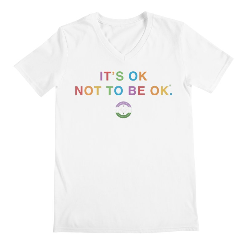IT'S OK Genderqueer (Non-Binary) Men's V-Neck by Hope for the Day Shop