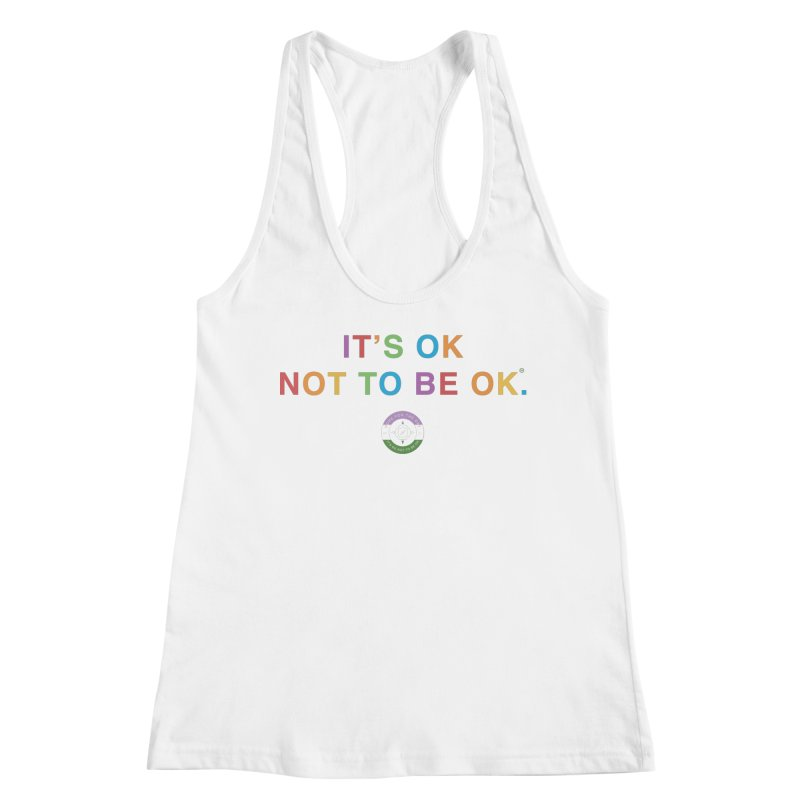 IT'S OK Genderqueer (Non-Binary) Women's Racerback Tank by Hope for the Day Shop