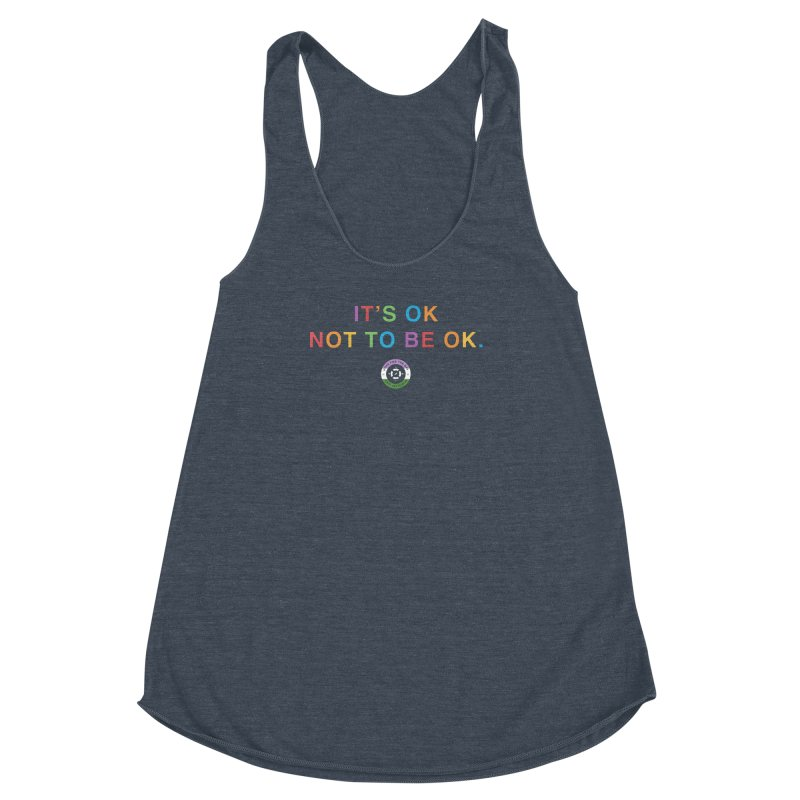 IT'S OK Genderqueer (Non-Binary) Women's Racerback Triblend Tank by Hope for the Day Shop