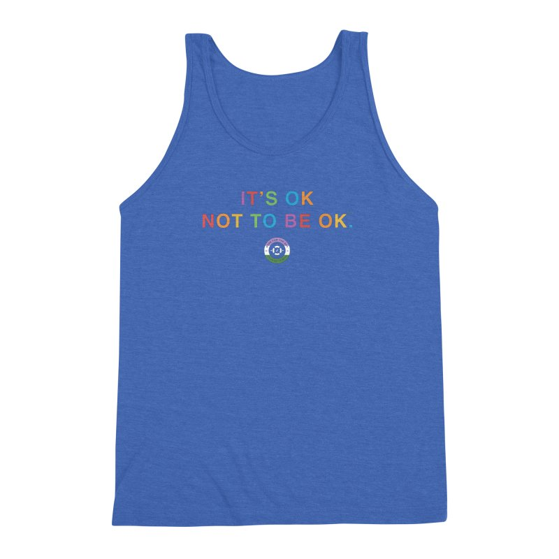 IT'S OK Genderqueer (Non-Binary) Men's Triblend Tank by Hope for the Day Shop