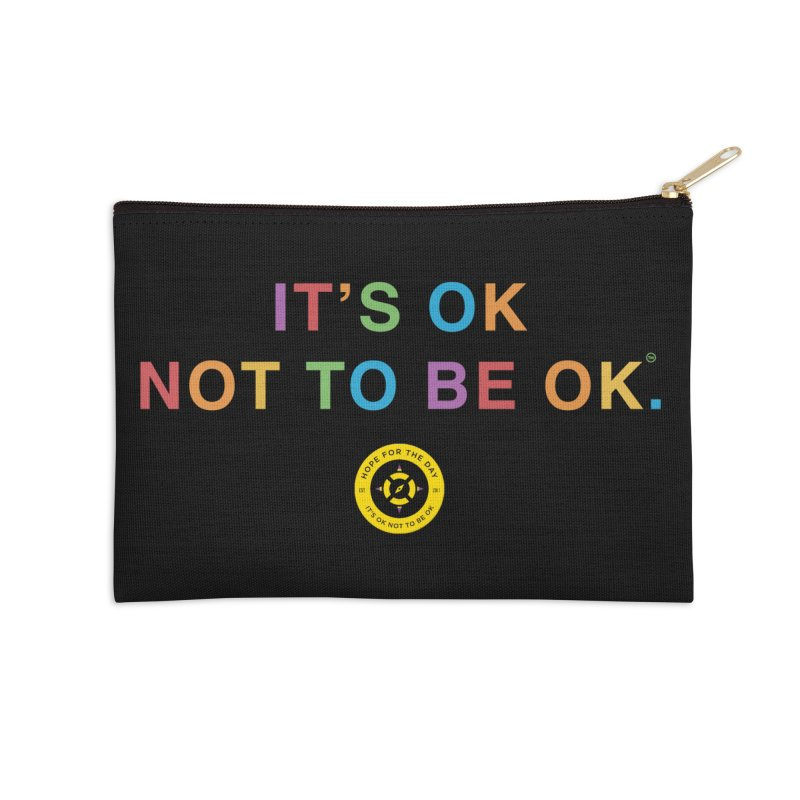 IT'S OK Intersex Accessories Zip Pouch by Hope for the Day Shop