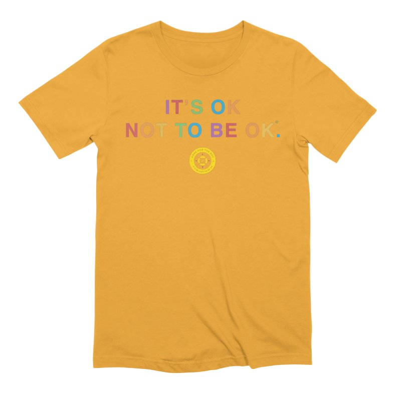IT'S OK Intersex Men's Extra Soft T-Shirt by Hope for the Day Shop