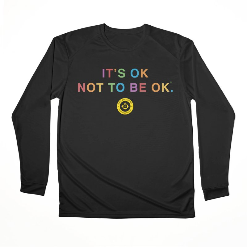 IT'S OK Intersex Women's Performance Unisex Longsleeve T-Shirt by Hope for the Day Shop