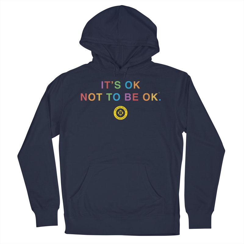 IT'S OK Intersex Women's French Terry Pullover Hoody by Hope for the Day Shop