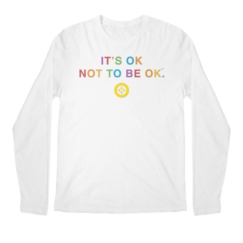 IT'S OK Intersex Men's Regular Longsleeve T-Shirt by Hope for the Day Shop
