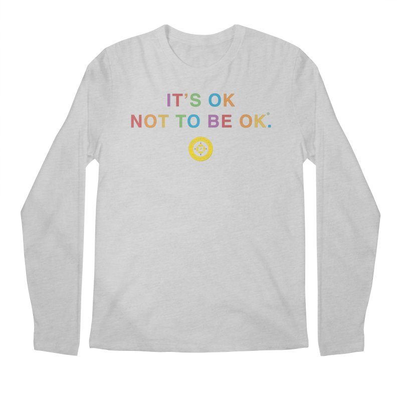 IT'S OK Intersex Men's Regular Longsleeve T-Shirt by Hope for the Day Shop