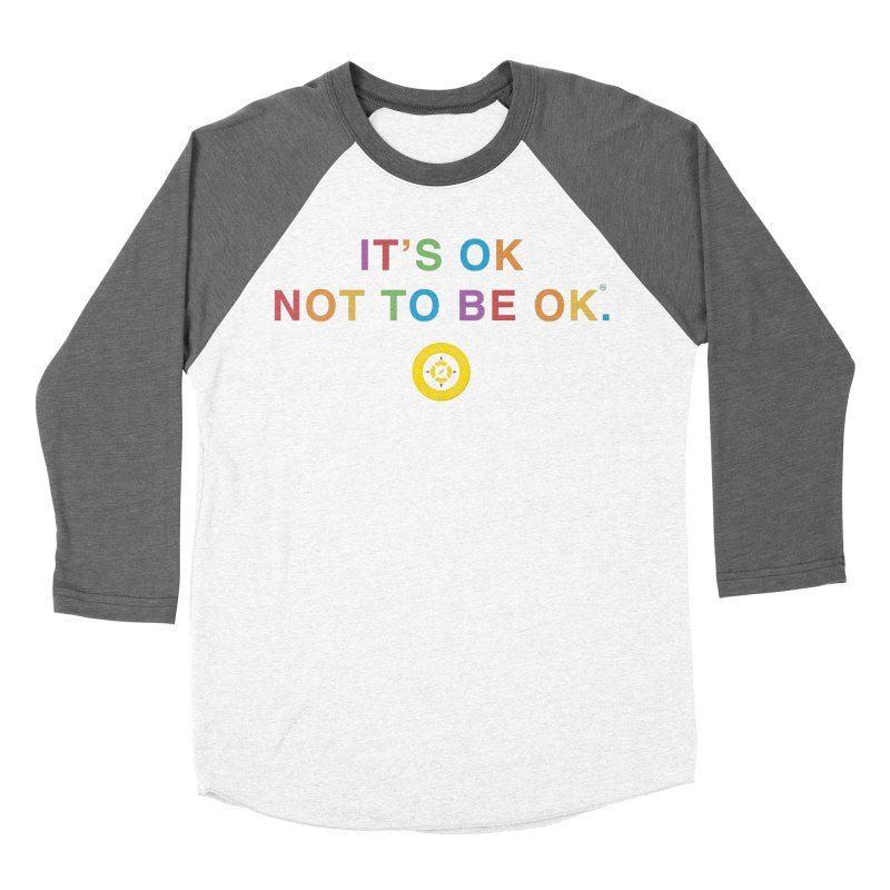 IT'S OK Intersex Women's Baseball Triblend Longsleeve T-Shirt by Hope for the Day Shop