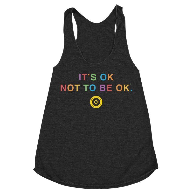 IT'S OK Intersex Women's Racerback Triblend Tank by Hope for the Day Shop