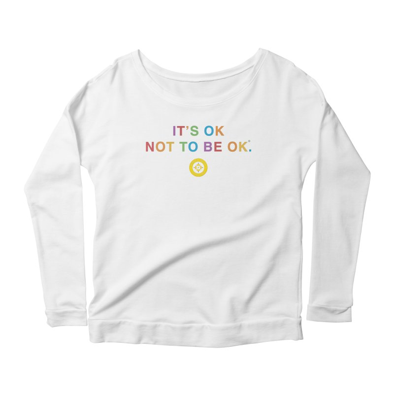 IT'S OK Intersex Women's Scoop Neck Longsleeve T-Shirt by Hope for the Day Shop