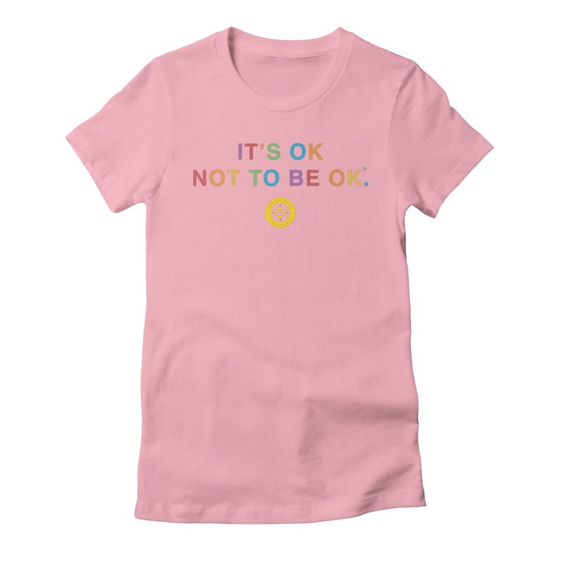 IT'S OK Intersex Women's Fitted T-Shirt by Hope for the Day Shop