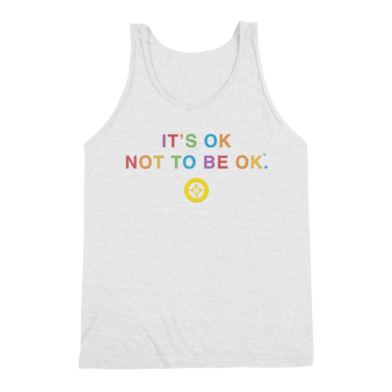 IT'S OK Intersex Men's Triblend Tank by Hope for the Day Shop