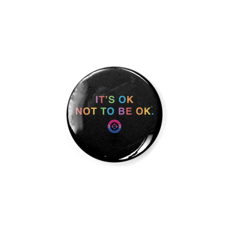 IT'S OK Bisexual Accessories Button by Hope for the Day Shop
