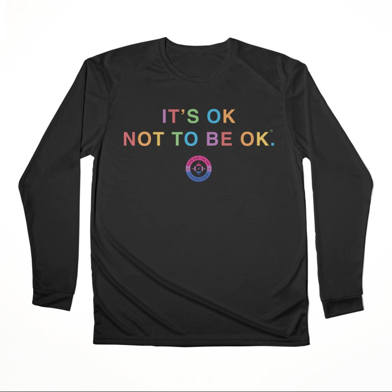 IT'S OK Bisexual Women's Performance Unisex Longsleeve T-Shirt by Hope for the Day Shop