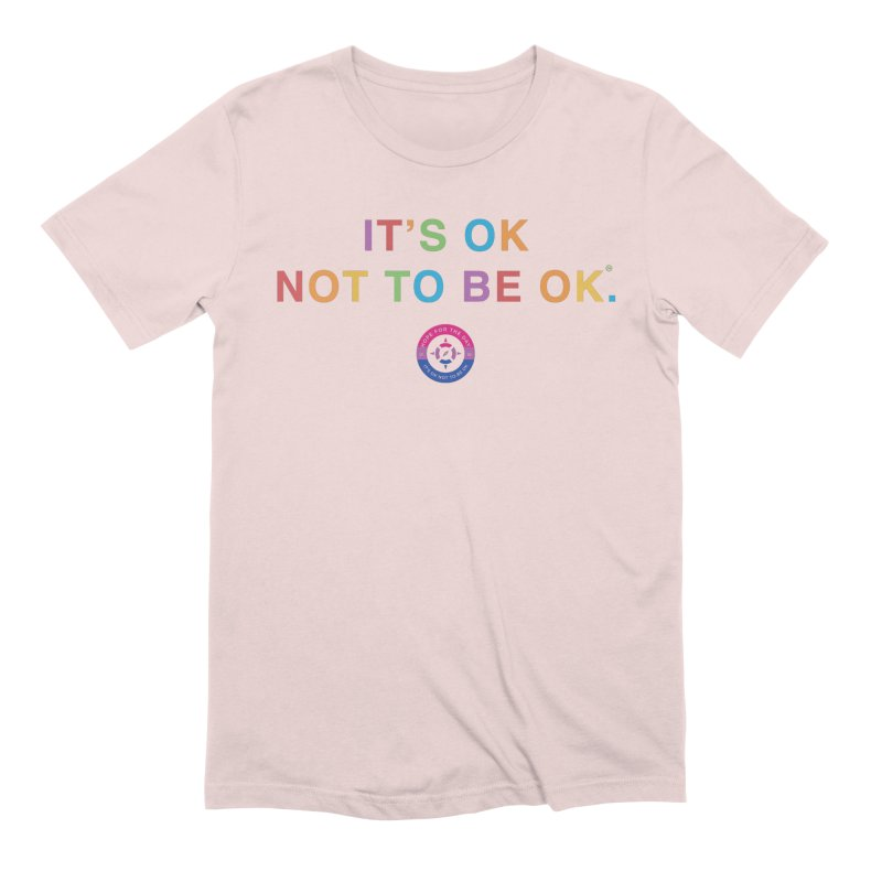 IT'S OK Bisexual Men's Extra Soft T-Shirt by Hope for the Day Shop