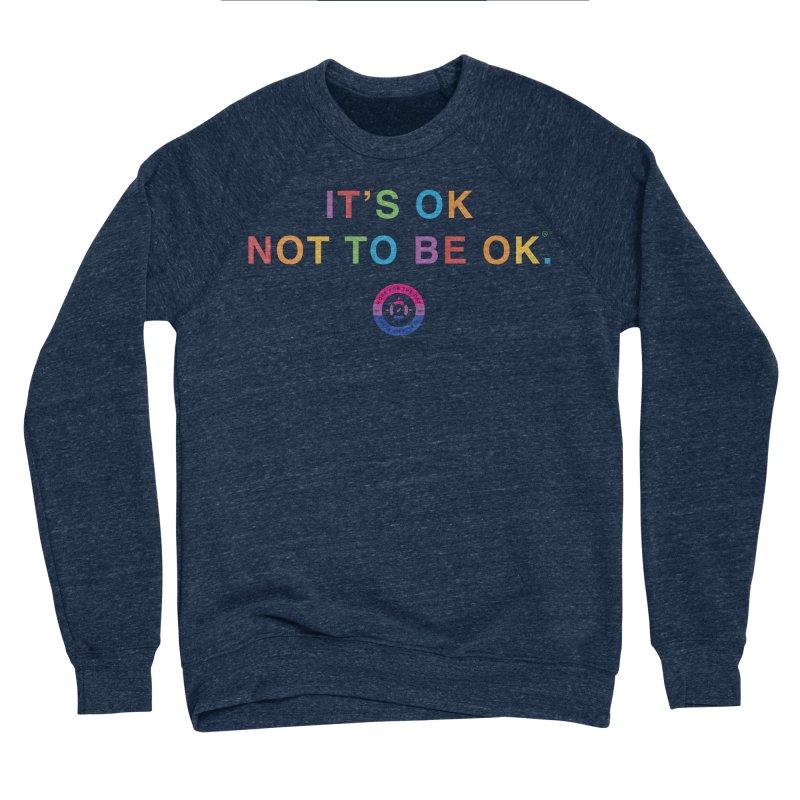 IT'S OK Bisexual Women's Sponge Fleece Sweatshirt by Hope for the Day Shop