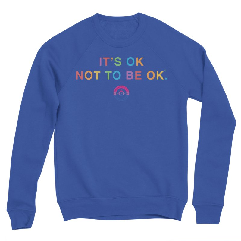 IT'S OK Bisexual Women's Sweatshirt by Hope for the Day Shop