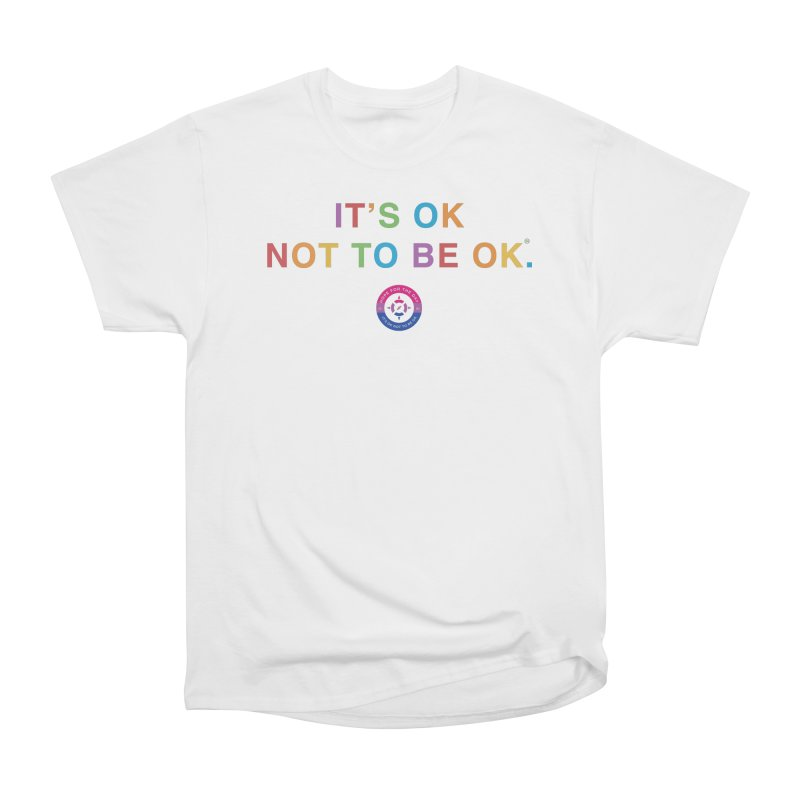 IT'S OK Bisexual Men's Heavyweight T-Shirt by Hope for the Day Shop