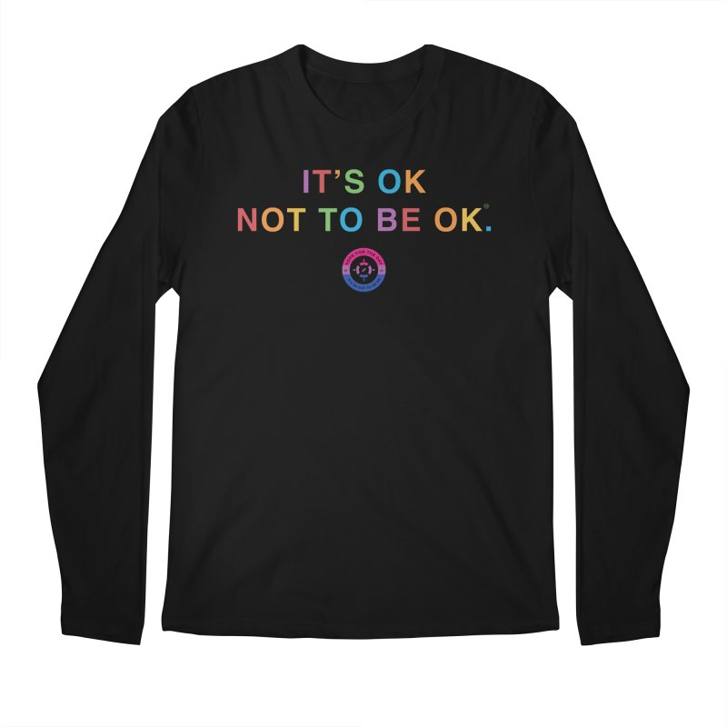 IT'S OK Bisexual Men's Regular Longsleeve T-Shirt by Hope for the Day Shop