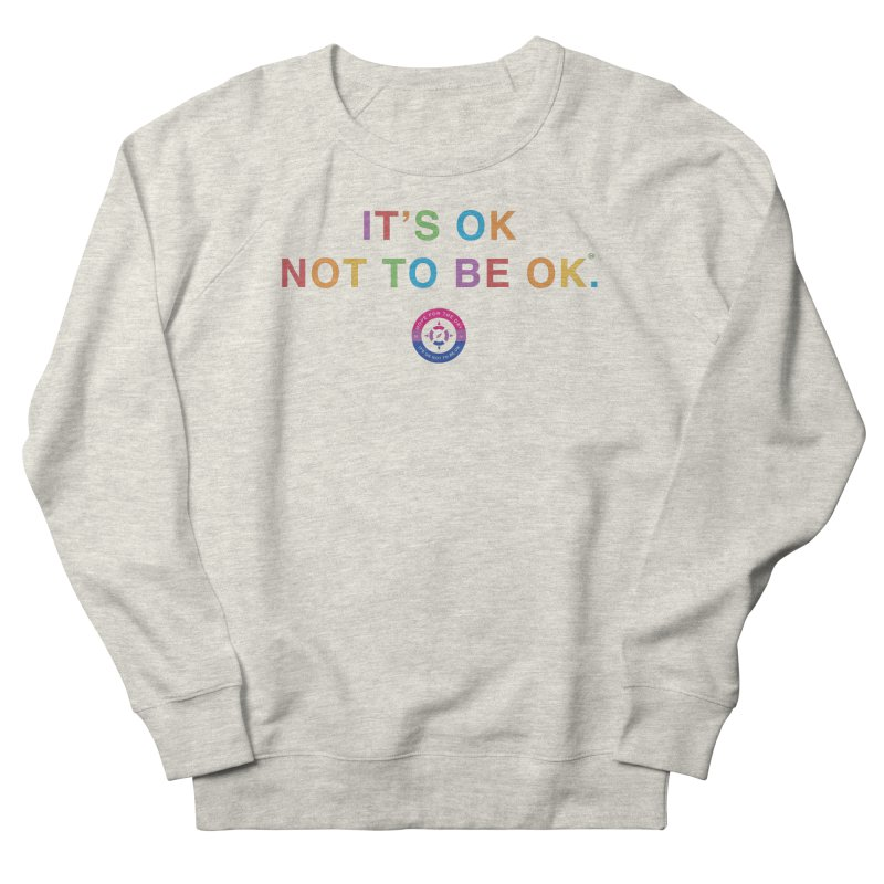 IT'S OK Bisexual Women's French Terry Sweatshirt by Hope for the Day Shop
