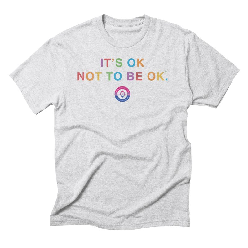 IT'S OK Bisexual Men's Triblend T-Shirt by Hope for the Day Shop