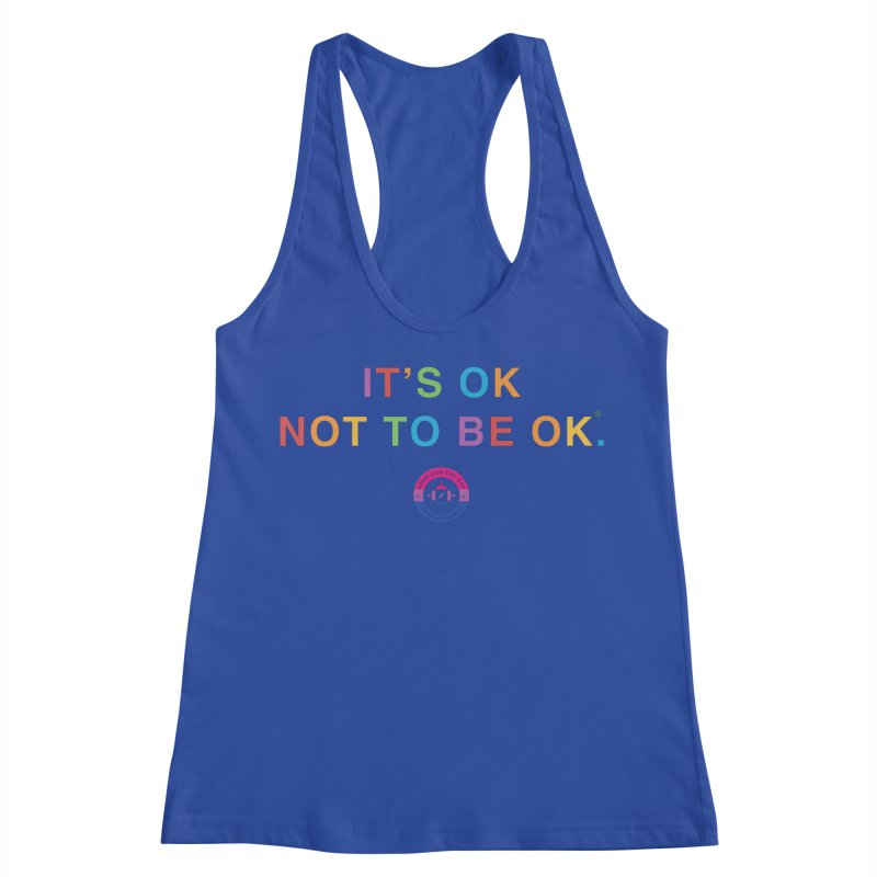 IT'S OK Bisexual Women's Racerback Tank by Hope for the Day Shop
