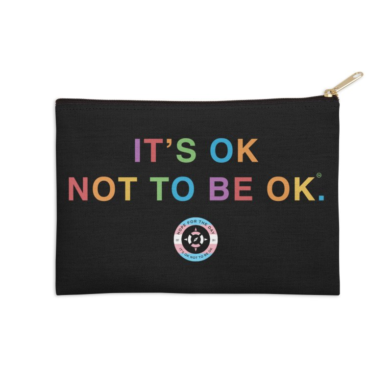IT'S OK Transgender Accessories Zip Pouch by Hope for the Day Shop