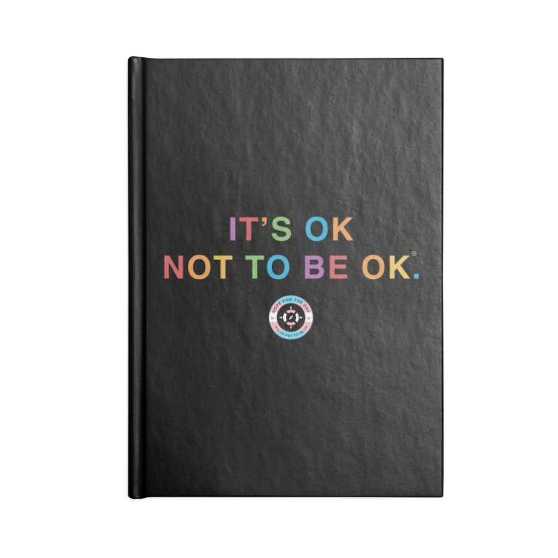 IT'S OK Transgender Accessories Lined Journal Notebook by Hope for the Day Shop
