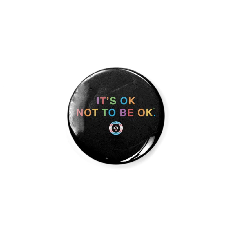 IT'S OK Transgender Accessories Button by Hope for the Day Shop