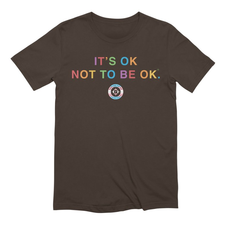 IT'S OK Transgender Men's Extra Soft T-Shirt by Hope for the Day Shop