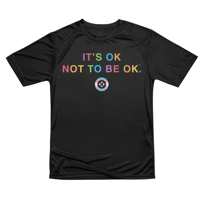 IT'S OK Transgender Women's Performance Unisex T-Shirt by Hope for the Day Shop
