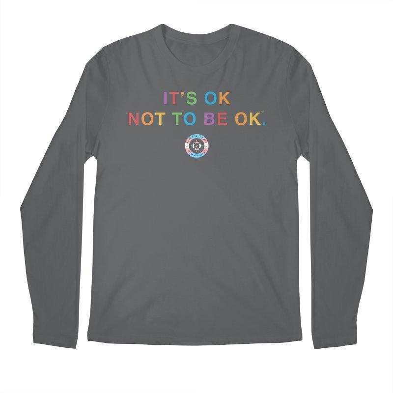 IT'S OK Transgender Men's Regular Longsleeve T-Shirt by Hope for the Day Shop