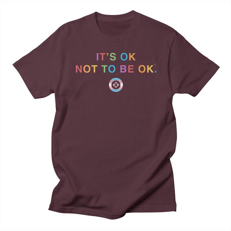 IT'S OK Transgender Women's Regular Unisex T-Shirt by Hope for the Day Shop