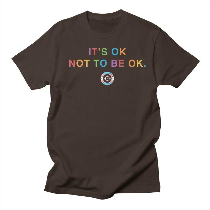 IT'S OK Transgender Men's Regular T-Shirt by Hope for the Day Shop