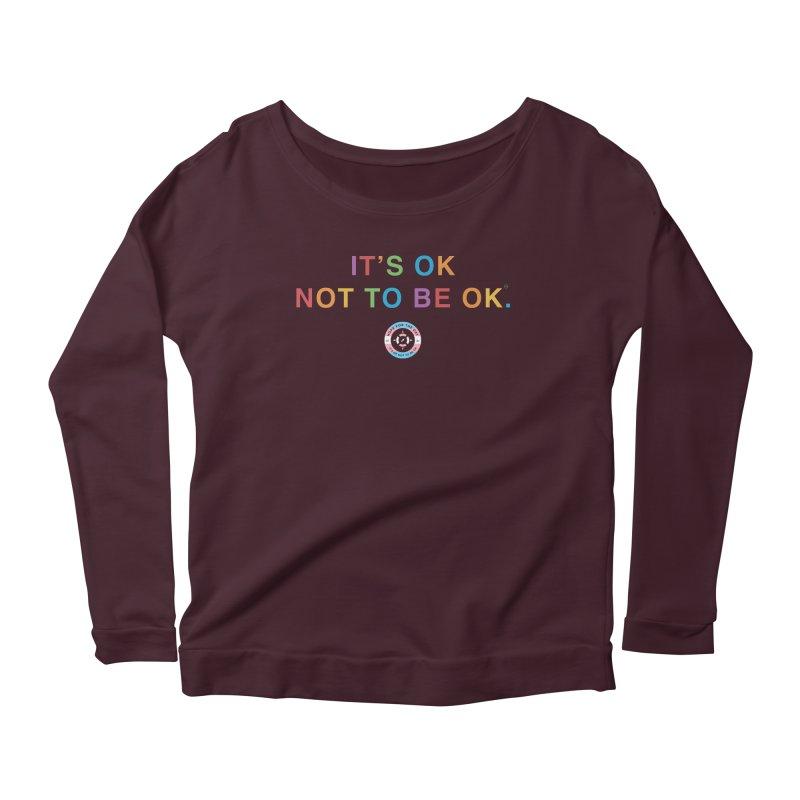 IT'S OK Transgender Women's Scoop Neck Longsleeve T-Shirt by Hope for the Day Shop