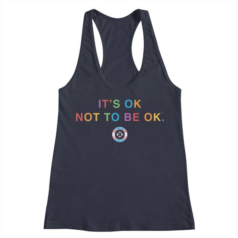 IT'S OK Transgender Women's Racerback Tank by Hope for the Day Shop