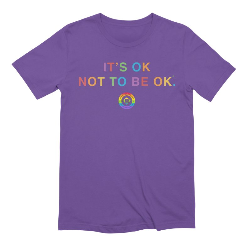IT'S OK LGBT Men's Extra Soft T-Shirt by Hope for the Day Shop