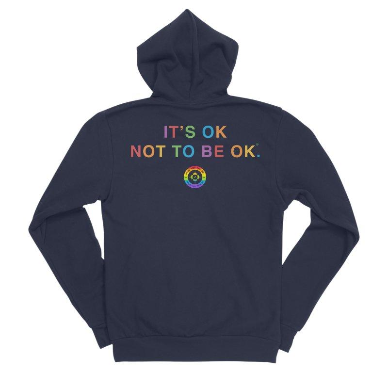 IT'S OK LGBT Men's Sponge Fleece Zip-Up Hoody by Hope for the Day Shop
