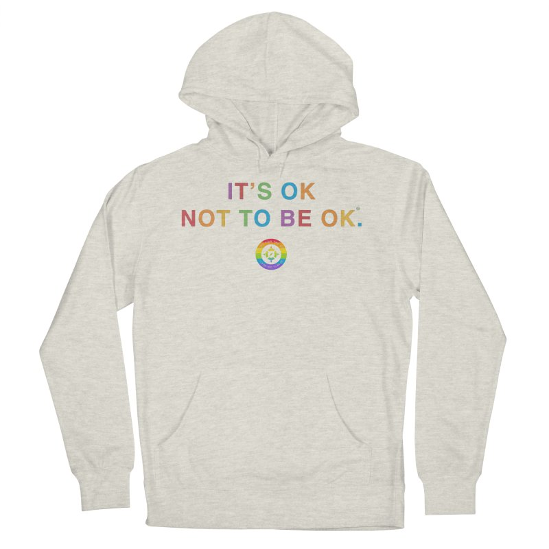 IT'S OK LGBT Men's French Terry Pullover Hoody by Hope for the Day Shop